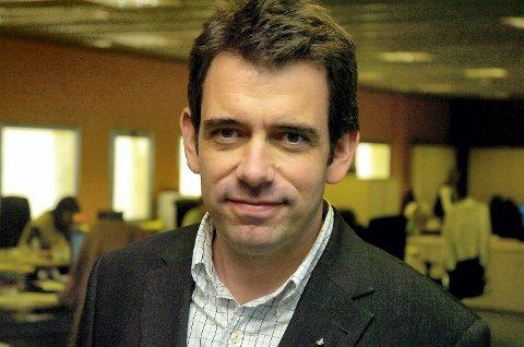 Ny kommunikasjonsdirektør: Christian Espolin Johnson.
