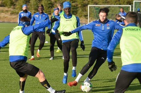 FÅR SJANSEN: Herman Solberg Nilsen spiller fra start mot Lillestrøm søndag kveld.