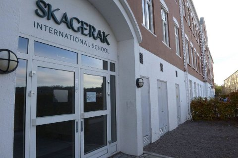 STREIK: Disse dørene stenges fra torsdag. 36 av Skagerak-lærerne går ut i streik.