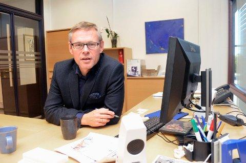 PROSJEKTLEDER: Lars Petter Kjær forteller at helgas dataproblemer ikke skyldes arbeidet med å slå sammen tre kommuners datasystemer, men et vedlikeholdsarbeid som pågikk. Arkivfoto: Jøran Kristensen