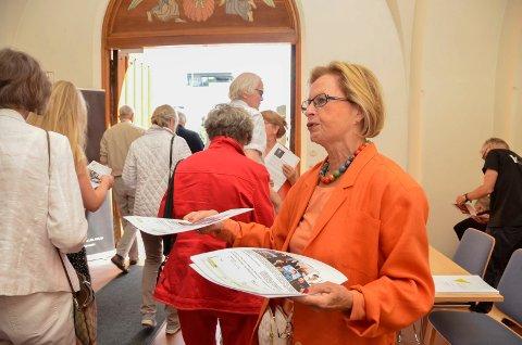 REKRUTTERER: Ellen von der Lippe er med på å starte Fjord Classics' vennegruppe.