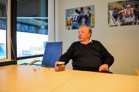 Gunnar Bjønness på hjemmebane.