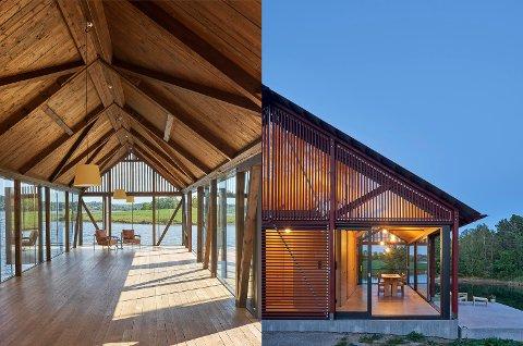 ARKITEKTUR: En paviljong og en hytte i Stokke har nylig blitt omtalt i ArchDaily, verdens mest leste nettside for arkitektur. De har over en halv million lesere hver eneste dag.