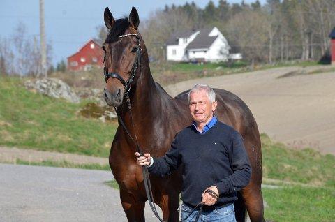 ERSTATNING: Stein Endresen mente han hadde rett på erstatning etter uenighet med Staten om hvor vidt han eide fire hester.
