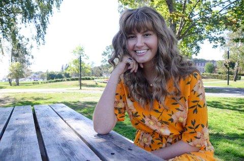 FRA SANDEFJORD TIL USA: Tidligere denne uka flyttet Ingrid Saga Andersen (19) til USA for å ta fatt på studier. Nå ser hun fram til fire spennende år som musikkstudent i Boston.