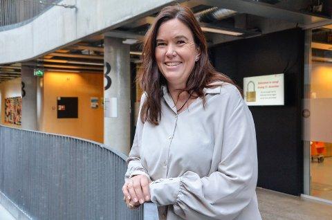 SKAL VÆRE MED: Sandefjord-kvinnen May-Bente Jansson skal ta del i den virtuelle utgaven av Stafett for livet sammen med «Team Jansson» – blant annet for å hedre sin avdøde pappa.