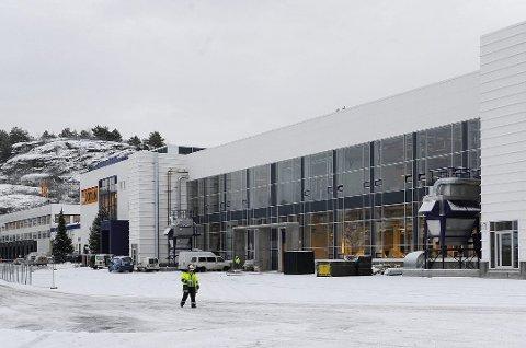VINDAL: Jotuns fabrikk på Vindal.