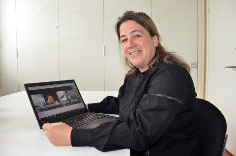 SIN EGEN SJEF: Cecilie Bryde Trosby (45) startet nylig for seg selv. Nå driver hun sitt eget begravelsesbyrå, og trives som sin egen sjef.