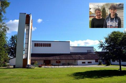 MÅVENTE: Det  blir ikke konfirmasjon i Bugården kirke i mai for Jesper Torp Øslebø. Mamma Aina Torp hadde planlagt selskapet, men nå må de utsette.