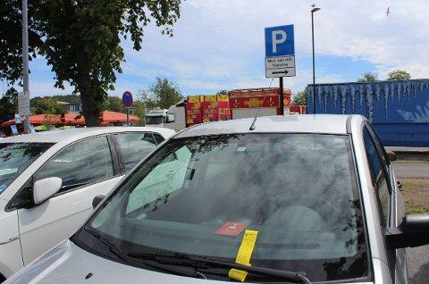 UKLART: Thor Werner Andersen mener taxiparkeringen på Tivolitomta skaper forvirring og unødvendige bøter.