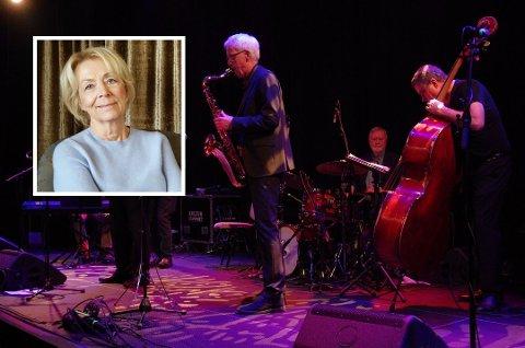 AVLYSER VÅRPROGRAM: Denne våren blir det ingen konserter med SanefjordJazz. – Styret i klubben håper at vi kan sette igang igjen i august, sier leder Ragnhild Stein. FOTO:Arveschoug/Løbach