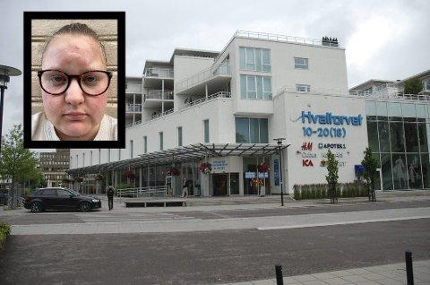 UBEHAGELIG: Camilla Isaksen synes ikke det var hyggelig å bli avkrevet legeattest på Hvaltorvet.