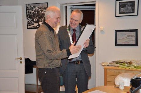 FUNKISPRIS: Sverre Nesvåg fekk Funkisprisen 2012 torsdag ettermiddag.