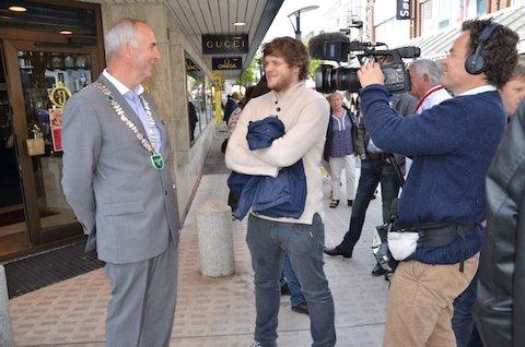 BRENNER: Sandnes er byen som er i søkjelyset i NRK-programmet «Brenner-historier fra vårt land« i kveld.