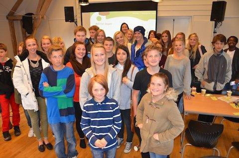 MOBBING: Elevane i Sandnes lagar tiltaksplan mot digital mobbing. Tiltaksplanen er ein del av arbeidet med mobbemanifestet.