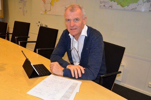 FORNØYD: Daglig leder Torgeir Ravndal i Sandnes Tomteselskap registrerer at selskapet i fjor hadde større overskudd enn budsjettert.