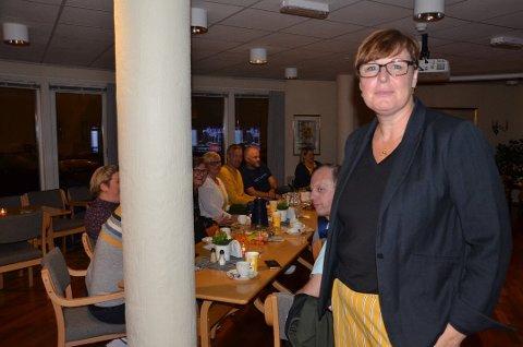 UNDRER SEG: Oddny Helen Turøy er skuffet over KrF-valget, men undrer seg også over flere ting i forhandlingene.