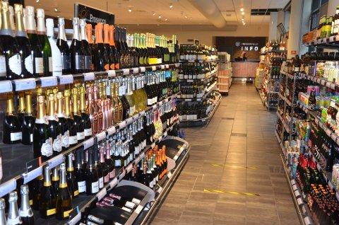 IKKE POL: Heller ikke i 2021 blir det etablert vinmonopolutsalg på Riska.