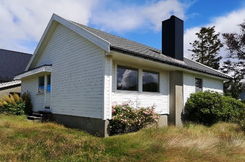 Huset, som ble bygget på 60-tallet, gis bort i sin helhet. Bortsett fra grunnmuren.