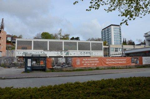 NYTT LIV: Går det slik de nye eierne vil kommer det snart til å bli nytt liv i Potterigården nord i Langgata.