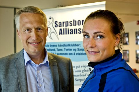 AVKLARING: Sportslig leder i Sarpsborgalliansen, Tor-Ivar Pettersen, regner med å få en avklaring i kveld på om Pernille Huldgaard Christensen fortsetter. FOTO: JOHNNY HELGESEN
