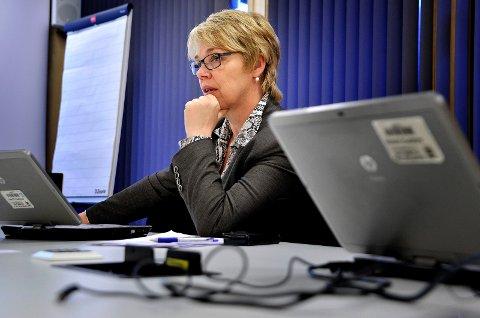 SYKEMELDT: Unni Skaar er sykemeldt. Kommunedirektøren skal behandles for brystkreft.