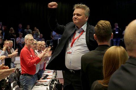 *** Local Caption *** Jørn Eggum er ny leder i Fellesforbundet.