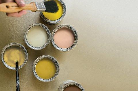 Ikke kast malingsrestene når jobben er gjort. De kan brukes til neste prosjekt.