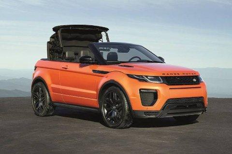 Range Rover har kappet taket av sin Evoque. Dermed har de også laget en helt ny nisje.