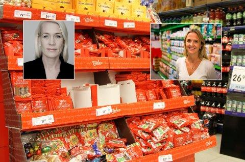 *** Local Caption *** Rema 1000 og Kiwi dumper prisene på julesnopet for å lokke kunder.