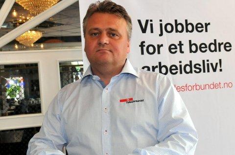 Jørn Eggum er påtroppende leder i Fellesforbundet. Han tror ikke det ender med nei til EØS på landsmøtet.