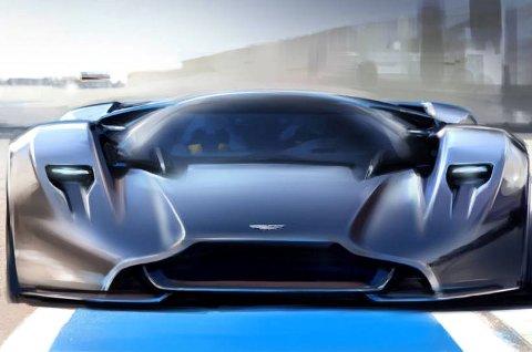 Designeren er kjent for å være kompromissløs, så regn med en fullstendig ekstrem superbil.