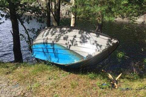 Nå er det på tide å gjøre båten klar for vinteren.