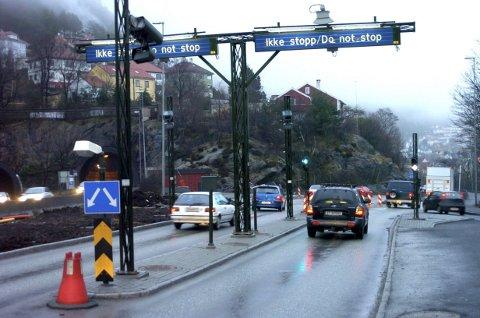 Staten krever sin del for at det skal bygges veier i Norge. Også bilistene i Bergen må punge ut. (Foto: Eirik Hagesæter, Bergensavisen/ANB)