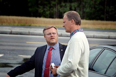 LOBBYKAMP: Ordfører Thor Hals (H) vil følge opp framstøtet fra Askim ved å ta direkte kontakt med samferdselminister Ketil Solvik-Olsen (Frp).