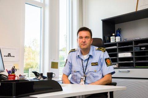 Politioverbetjent ved Indre Østfold politistasjon, Svend Åge Sletten (49), seksjonsleder for etterforskning.