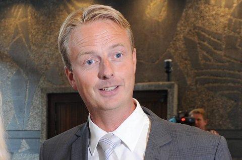Olje- og energiminister Terje Søviknes (Frp).