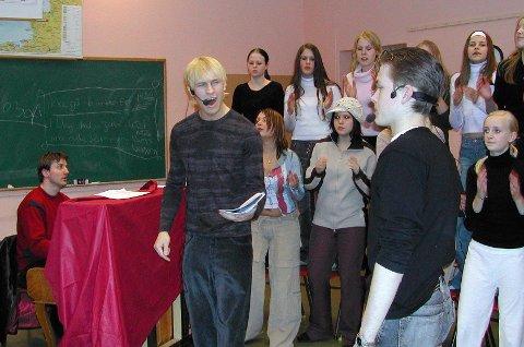 Musikkteater: Knut Erik Skofsrud har lang erfaring med forestillinger i Indre Østfold. For musikalen «Lennart i Hollywood» fra 2003 var han også komponist. Arkivfoto: Beate B. Berget