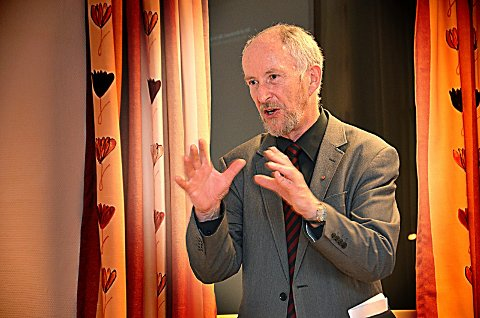 Skviset: Ole Haabeth har vært fylkesordfører i Østfold siden 2007, men er ikke foreslått som Viken-politiker fra Østfold.