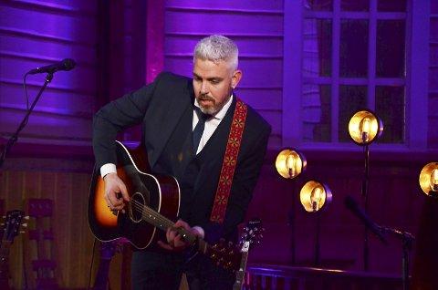 Entertainer: Trygve Skaug dro fullt hus og har mange tilhengere både som musiker og forfatter.