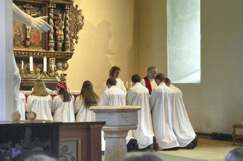 Konfirmasjon: Årets konfirmasjon i Snåsa kirke er besluttet utsatt til 11. september.