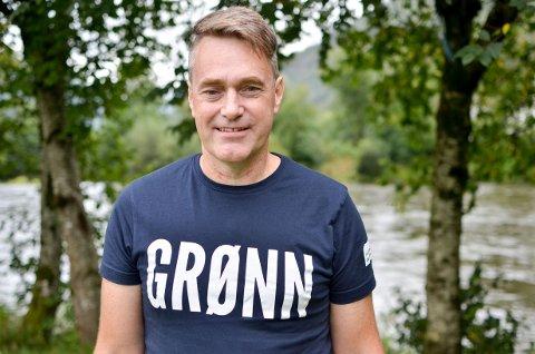 TRUR PÅ STORTINGSPLASS: Marius Langballe Dalin har fått førsteplassen på Vestland MDG si Sogn og Fjordane-liste.