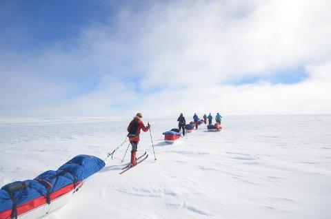 I gruppe satte David Loughman og Oddveig Haga kursen over Grønland. Det ble ikke helt som forventet, men det ble en opplevelse for livet.
