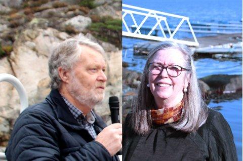 PENSJONISTAR: Steinar Haaland og Eva Landre Meling har begge jobba i Forsand kommune i over 30 år, men sjølv om dei blir pensjonistar 1. januar skal dei jobba som konsulentar dei kommande to åra.