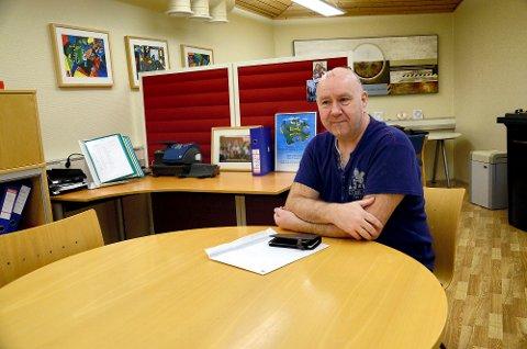 """Styret ved Steinkjer montessoriskole, med styreleder Roar Svendsen i spissen, har kjøpt den såkalte """"bikuben"""" på Nordsileiret."""