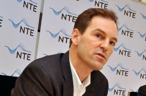 Konsernsjef Christian Stav i NTE kan konstatere at selskapet har lagt bak seg nok et sterkt år, til tross for pandemi og lav strømpris.