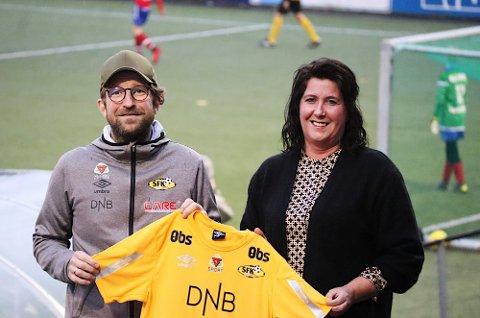 Styreleder i SFK Gisle Almlid Larsen kunne mandag kveld presentere Marthe Solnes Persgård som ny daglig leder i klubben.