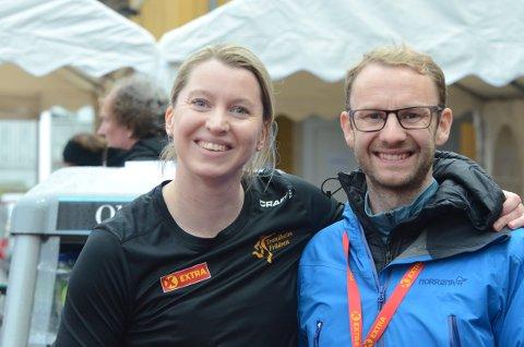 KORONA ENDRET PLANENE: Mari Gilde Brubak og Henrik Nordtug skulle giftet seg i Roma sist helg, men ble med på NM i stedet.