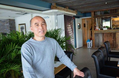 Tien Huy Nguyen, driver av Svelvik Kro, må stenge igjen.