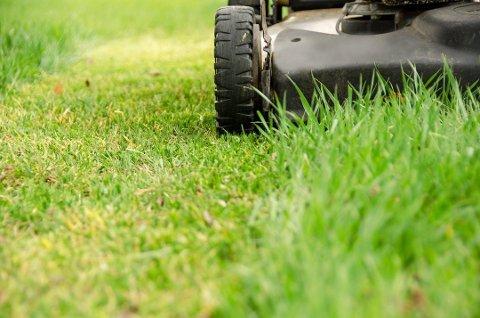 Det er ikke lov å klippe plenen med en støyende gressklipper på søndager eller helligdager.